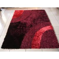 Buy cheap Wave Design Polyester Mixed Shaggy Carpet Design Area Rug Decent Carpet from wholesalers