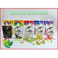 Buy cheap Laundry Detergent Packaging Spout Pouch PA / PE Custom Printing from wholesalers