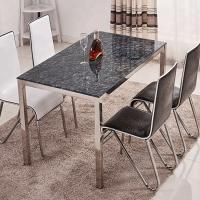 Buy cheap Home Decor Furniture Glass Top Dining Table And Chairs For Dining Room from wholesalers
