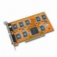 Buy cheap DVR PCI Video Card, Supports Plug-and-play Function and PAL/NTSC product