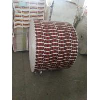 Buy cheap Red Flexo Printing Printed Paper Roll Biodegradable Customized Printing Paper Rolls from wholesalers