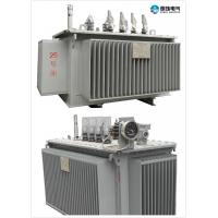 Buy cheap 6.6 KV - 250 KVA Oil Immersed Transformer Oil Cooled Transformers Safety from wholesalers