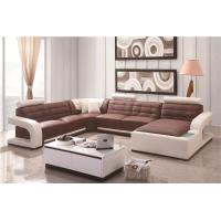 Buy cheap Modern Golden Quality Living Room Leather Sofa Set For Wholesale from wholesalers