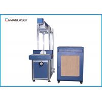 Buy cheap 3 Years Warranty Plastic Cloth CO2 Laser Marking machine  Equipment  With 80w Glass Tube from wholesalers