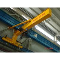 Buy cheap Compacted Frame Wall Traveling Truck Jib Cranes For Fitting & Fabrication Workstation product