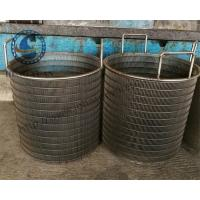 Buy cheap 304 Grade Wire Cylinder Basket , Water Treatment Rotating Drum Screen from wholesalers
