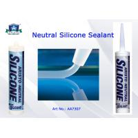 Buy cheap Low Modulus Neutral Cure Silicone Sealant One Part Clear / White / Black / Gray Custom Color from wholesalers