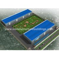 Buy cheap Prefab steel frame storage buildings by Q235&Q345B for the United Arab Emirates from wholesalers