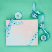 Buy cheap Double Side Gift Wrap Bows , Ribbons For Gift Wrapping / Cosmetic Package from wholesalers