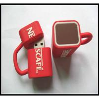 Buy cheap wholesale OEMNovelty Coffee Cup Usb Flash Drives, pvc usb flash drive rubber usb chip from wholesalers