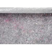 Buy cheap Dark Grey 5mm Felt 240gsm Recycled Felt Fabric Backing With PE Film For Decorating from wholesalers