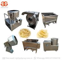 Buy cheap Potato Chips Frying Production Line French Fries Machine Price In India from wholesalers