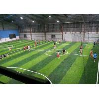Buy cheap Smooth Economy 12000 Dtex Fake Turf Grass / Artificial Grass Football product