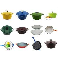 Buy cheap cast iron cookware set from wholesalers