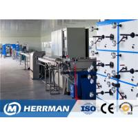 Buy cheap PLC Control 12/24 Fiber Optic Cable Production Line Secondary Coating Machine from wholesalers