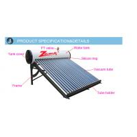China solar water heater pressurized with heat pipe on sale