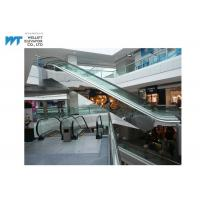 Buy cheap 2 Horizontal Steps Shopping Mall Escalator With Automatic Lubricator Maintenance from wholesalers