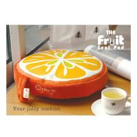 Buy cheap Colorful Kitchen Chair Cushion / Memory Foam Floor Cushion Pads , Round from wholesalers