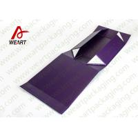 China UV Coated Automatic Foldable Paper Boxes Gift Packaging With Magnets on sale