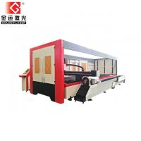 Buy cheap 2500w Enclosed Pallet Table Fiber Laser Sheet And Tube Cutting Machine Price GF-1530JHT from wholesalers
