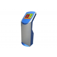 Buy cheap Multimedia Interactive Touch Screen Kiosk with Thermal Printer and Barcode Reader from wholesalers