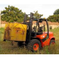Buy cheap Powerful easy maintenance offroad terrian new 3.5T forklift truck for sale from wholesalers