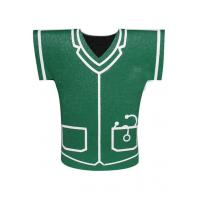 Buy cheap Personalized Green 3mm Neoprene stubby Shirt Shape Can Beer Bottle Coolers from wholesalers