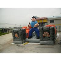 Buy cheap Human Figure Inflatable Amusement Park / Prison Theme Inflatable Fun City  from wholesalers