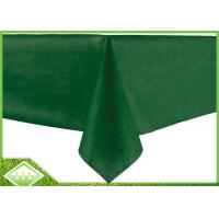 China 50GSM PP Spunbond Non Woven Table Covers , Non Woven Disposable Table Cloths on sale