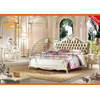 Buy cheap french style antique Italian design valencia luxury royal bedroom furniture set from wholesalers