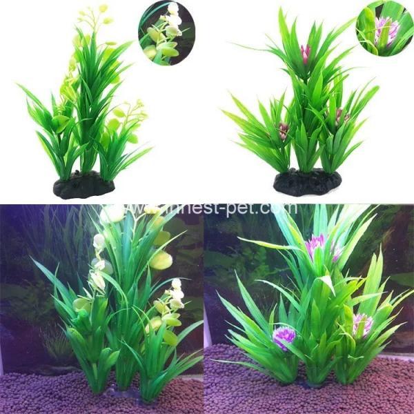 Cheap vivid aquarium imitation water plant artificial for Artificial pond plants sale