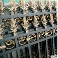Buy cheap Outdoor Aluminum Garden Fencing Custom Designed Decorative Security and Privacy Luxury from wholesalers