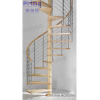 Buy cheap In Cheap Price Selling Solid Wood Spiral Staircase from wholesalers