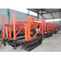 Buy cheap Hydraulic water well drilling rig machine , Track mounted borehole drilling rig from wholesalers