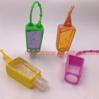 Buy cheap Hand Sanitizer Bottle Silicone Cover Silicone Holders Dongguan Factory Supply from wholesalers