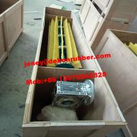 Buy cheap Nylon roller Sanding Rotary Automatic conveyor brush belt cleaner from wholesalers