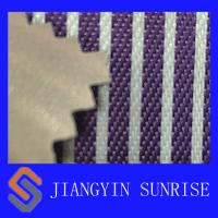 Buy cheap Sofa Use Purple Nylon Oxford Fabric PVC Coated Polyester Fabric , ROHS from wholesalers