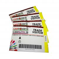 Buy cheap silver layer scratching off layer security thermal paper tickets from wholesalers