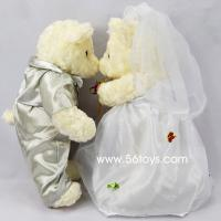 Buy cheap plush wedding bear couples gift ,stuffed wedding bears ,wedding bears stuffed love gifts from wholesalers