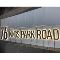Buy cheap 3000k 20mm Reverse LED Channel Letters For Shopping Mall from wholesalers