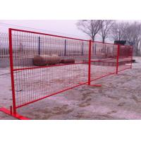 Buy cheap Temporary Outdoor Fence / Security Fence Canada Durable And Well Structured from wholesalers