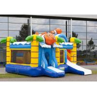 Buy cheap Clown Water Slide Combo , Bounce House Slide Combo With Slide For Kids Party from wholesalers