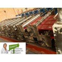 850 corrugated colored steel roll foming machine for steel roof