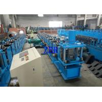 Buy cheap 2 Units Servo Motor Interchangeable Roll Forming Machine For Purlin C / Z 100-300 MM product