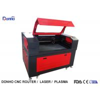 Buy cheap Black And Red Fabric Laser Cutting Machine with Honey Comb Table For Wood Engraving from wholesalers