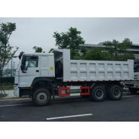 Buy cheap Safe Sinotruk Howo Tipper Heavy Load Truck Low Oil Consumption from wholesalers