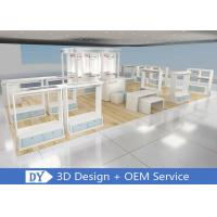 Buy cheap OEM Morden Retail Shop Wooden Lacquer Kid Clothing Display Racks With OEM Color from wholesalers
