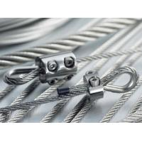 Buy cheap 4.8mm Steel Wire Rope Sling Cable Assemblies With Clip / Eye Hook Thimble from wholesalers
