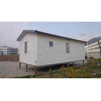 Buy cheap White Eco Friendly Prefabricated Mobile Homes / Light Steel Log Mobile Homes from wholesalers