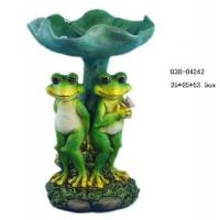 Buy cheap Garden Decoration Resin Frog Figurine (D38-04242) from wholesalers